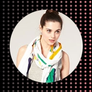 Julie Verhoeven fairtrade scarf for asos
