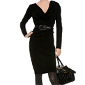 Eco Style: Noir luxury ethical dress.